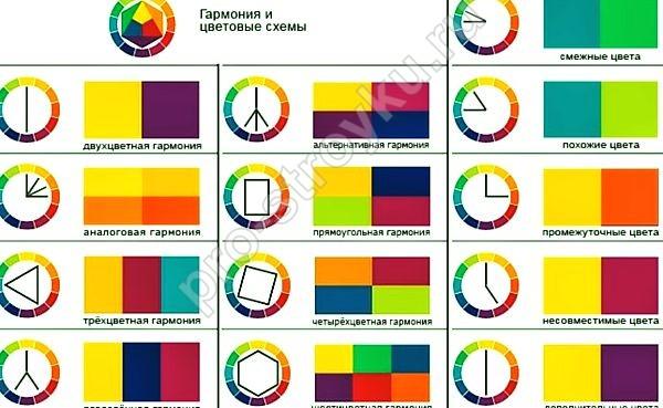 гармония цвета эксперименты