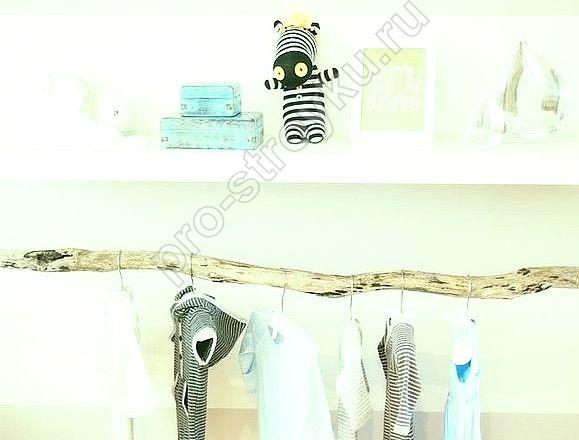вариант детской гардеробной