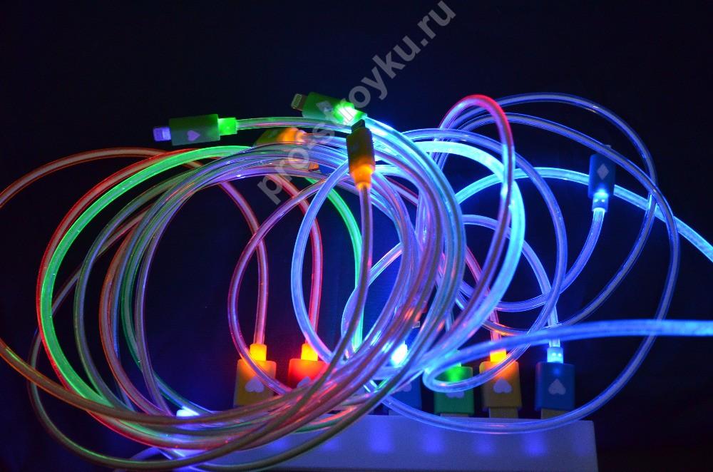 светодиодный провод - вариант силового